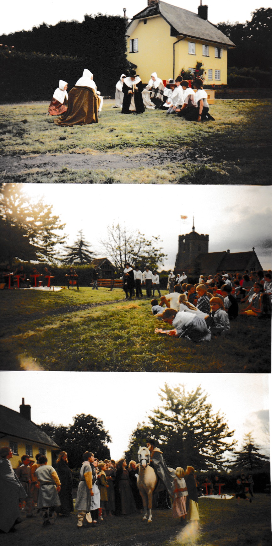 Look back to St Ippolyts Church 900 Years Celebration in 1987