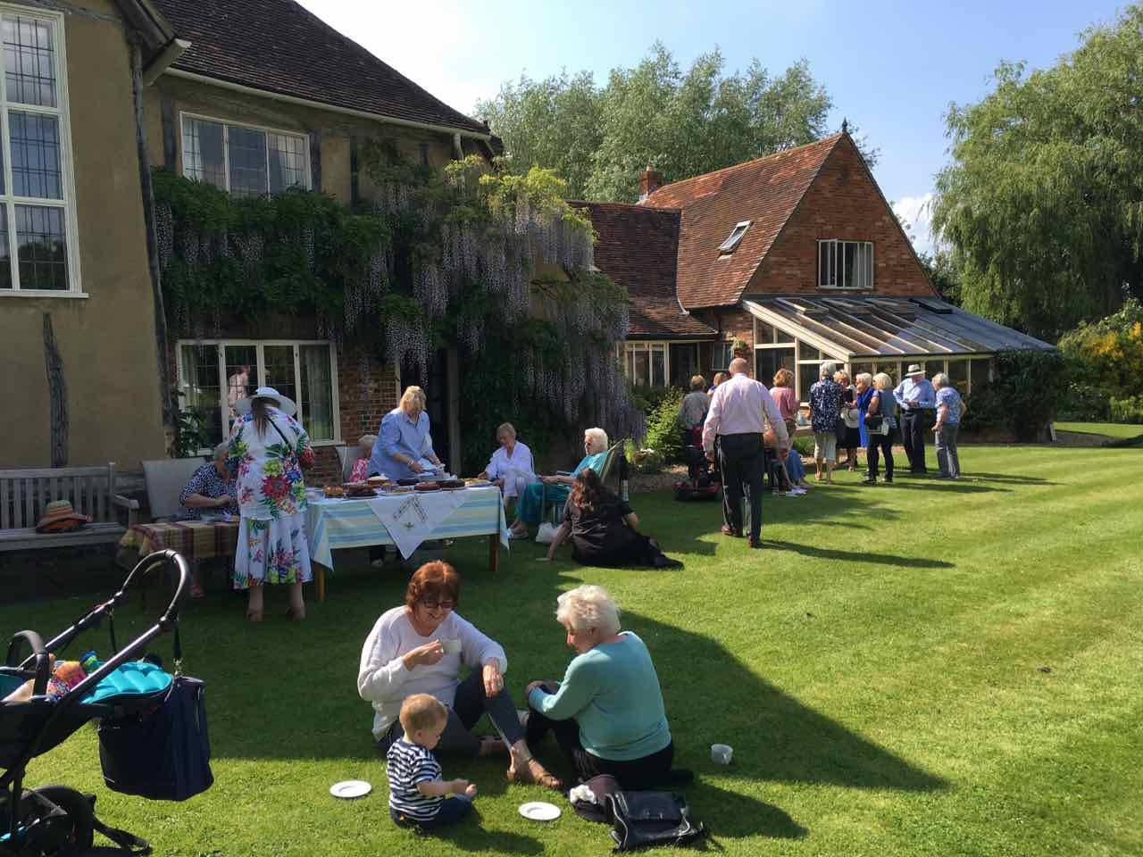 Tea Party at Maydencroft Manor