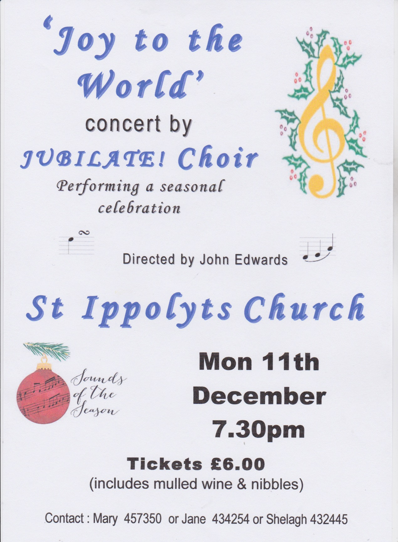 171211 Jubilate Choir Concert