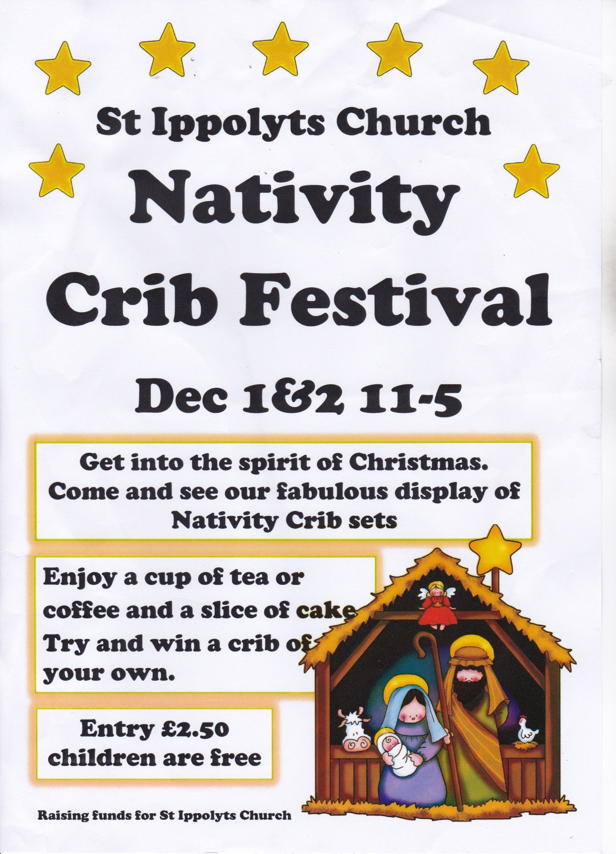181201 Nativity Crib Festival Poster