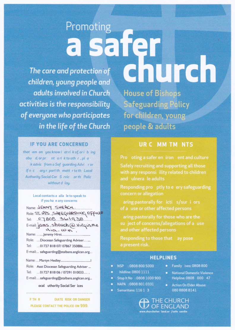 190625 Promoting a Safer Church poster