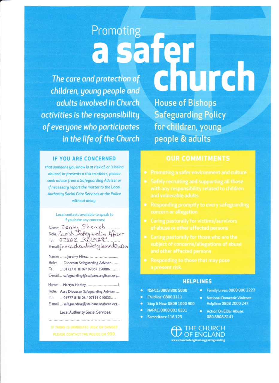 191020 Promoting a Safer Church  poster