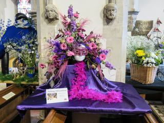IMG 0196 rNotting Hill Carnival St Ippolyts Flower Festival 28th May 2016