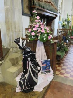 IMG 0201 rA day golfing St Ippolyts Flower Festival 28th May 2016