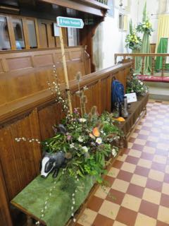 IMG 0202 rA ramble in the country St Ippolyts Flower Festival 28th May 2016