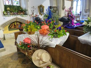 IMG 0208 rRoyal Ascot  St Ippolyts Flower Festival 28th May 2016