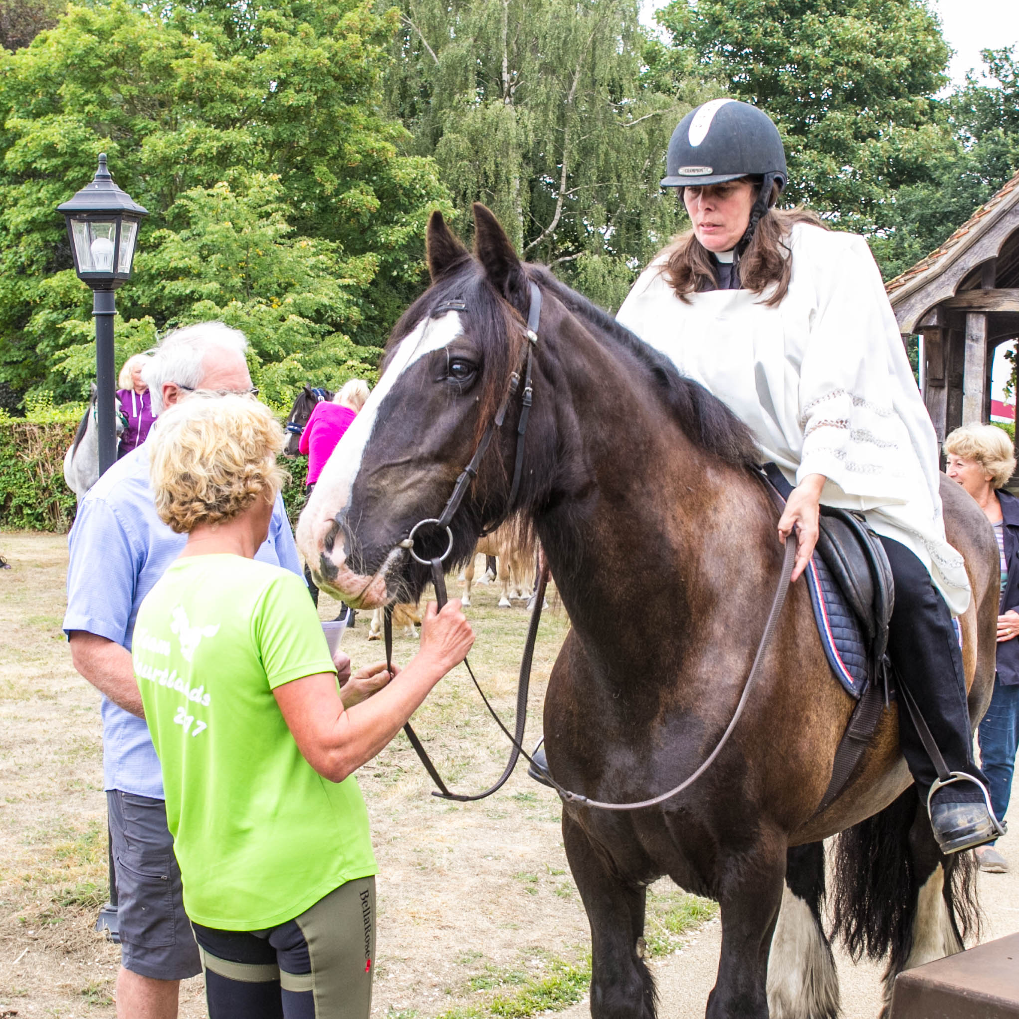 IMG 9792 Ginni on Horse Horse Blessing Service 12th August 2018-9792