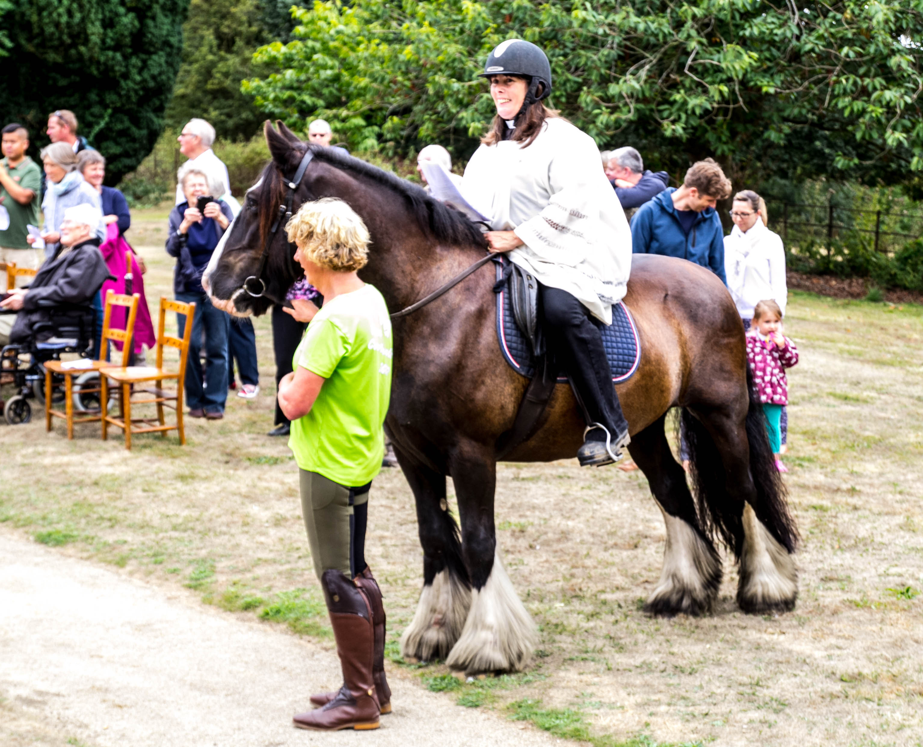 IMG 9802 Ginni on Horse Horse Blessing Service 12th August 2018-9802
