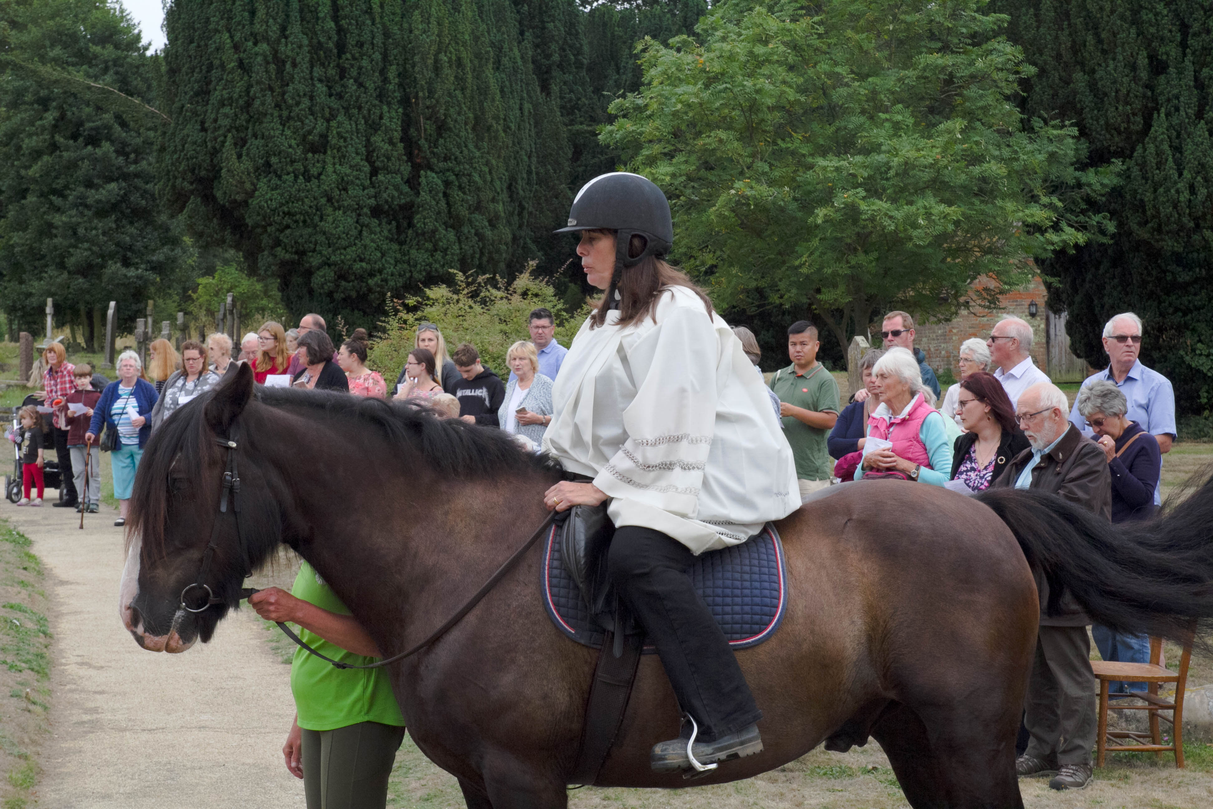 IMG 9821 Ginni on Horse Horse Blessing Service 12th August 2018-9821